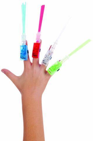 Fiber Optic Lazer Fingers