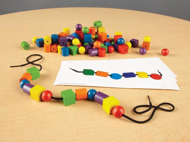 Lacing Beads and Pattern Card Set