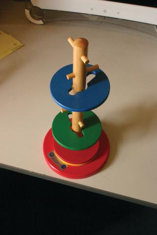Rotating Disc Puzzle