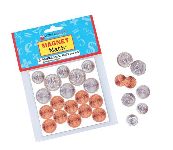 Magnet  Math Coins
