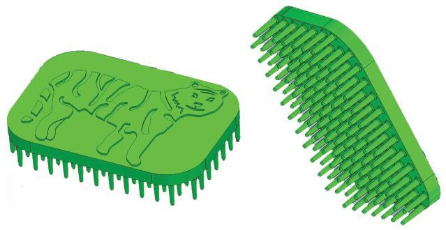 Tactile Tiger Sensory Brush
