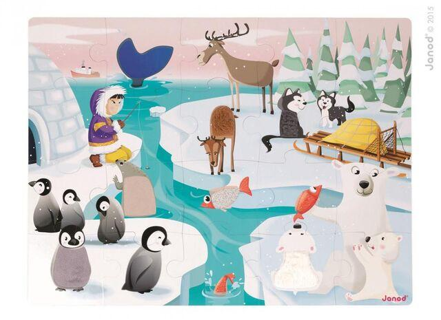 Giant Tactile Animal Puzzle - Arctic