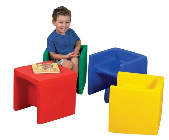 Cube Chairs Set of 4