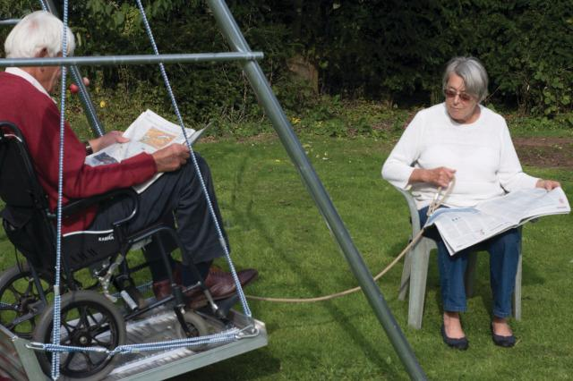 Wheelchair Platform Swing Only