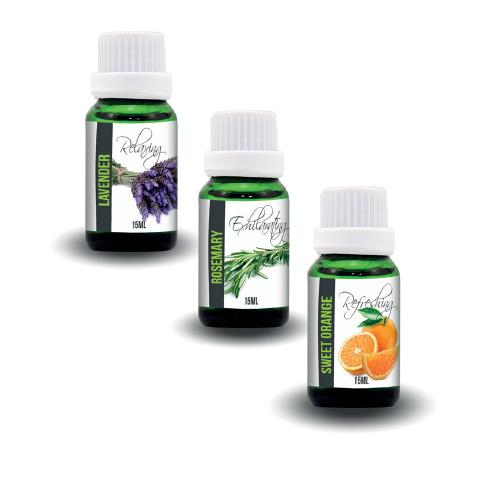 Variety Aromatherapy Oils