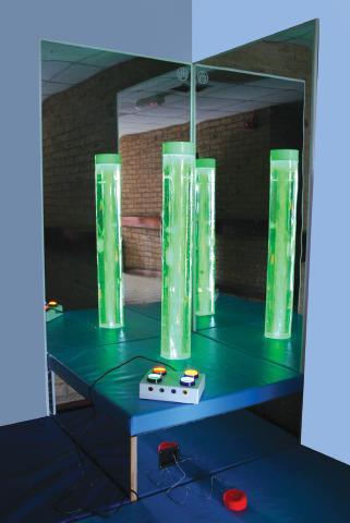 Bubble Column Podium Seat Base
