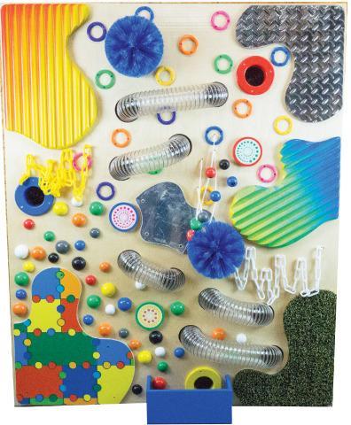 Tactile Loopie Wall