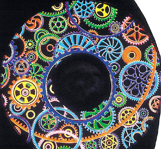 Solar Projector Effects Wheels- Style: Cog Effects Wheel