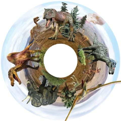 SNAP Projector Wheels- Style: Dinosaurs