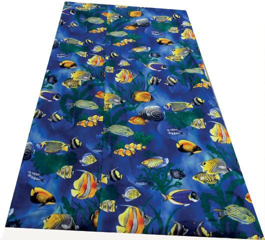 Sealife Vinyl Weighted Blanket