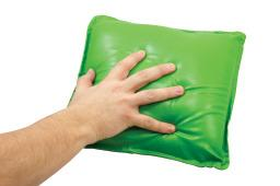 Satin Soft Calming Cushion