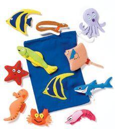 Fuz-sea Creatures