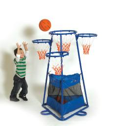 4 Ring Basketball Stand