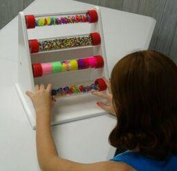 Multi Colored Tabletop Roller