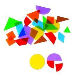 Translucent Geometric Shapes