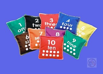Numbered Bean Bags