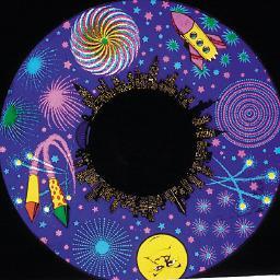Solar Projector Effects Wheels- Style: Fireworks Effects Wheel